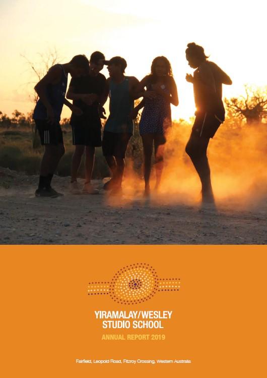 Yiramalay Annual Report 2019 cover