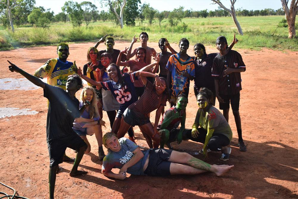 Indigenous students in Yiramalay